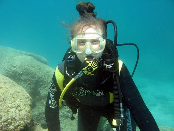monica diving